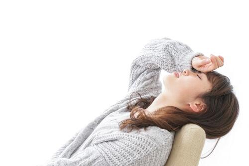 自律神経の乱れに苦しむ女性